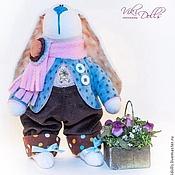 Куклы и игрушки ручной работы. Ярмарка Мастеров - ручная работа Тильда-зайчик Денди. Handmade.
