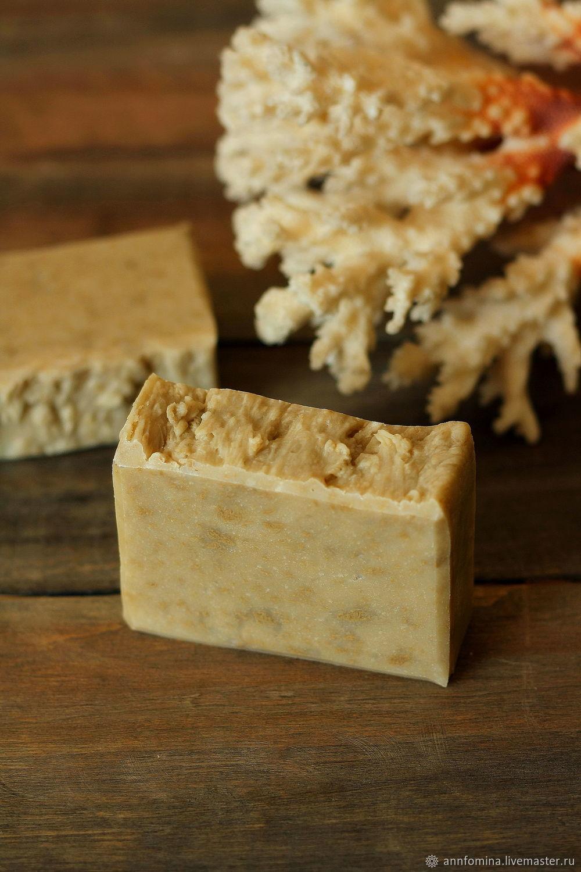 Мыло ручной работы. Ярмарка Мастеров - ручная работа. Купить Мыло с водорослями, натуральное мыло с нуля, без запаха. Handmade.