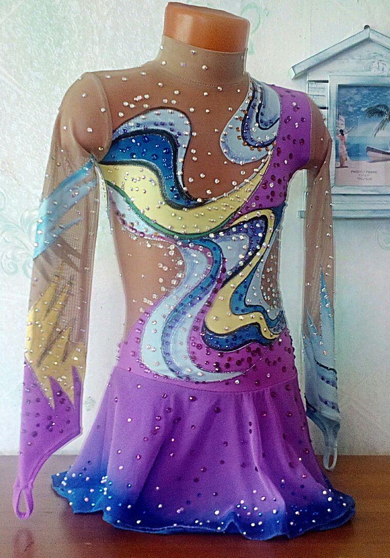 Vestido de patinaje artístico, Carnival costumes for children, Tolyatti,  Фото №1