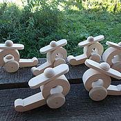 Куклы и игрушки ручной работы. Ярмарка Мастеров - ручная работа Вертолётик. Handmade.