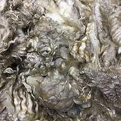 Материалы для творчества handmade. Livemaster - original item Fleece Leicester lamb of the first year.White. New Zealand. 50 grams.. Handmade.