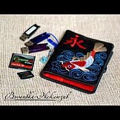 Сувениры и подарки ручной работы. Ярмарка Мастеров - ручная работа Вышитый хранитель памяти Карп Кои. Handmade.
