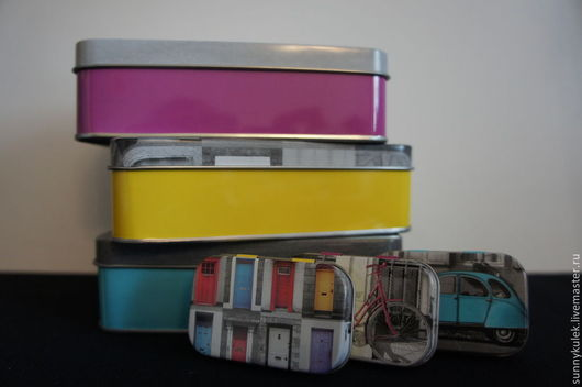 Упаковка ручной работы. Ярмарка Мастеров - ручная работа. Купить Металлическая коробка набор. Handmade. Металлическая коробка, жестяная, для игрушек