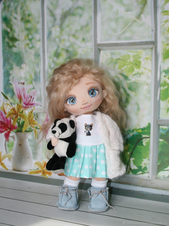 Интерьерная кукла из текстиля, Тыквоголовка, Владивосток,  Фото №1