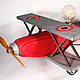 Освещение ручной работы. Ярмарка Мастеров - ручная работа. Купить Светильник биплан Red Biplane Only Edison III. Handmade.