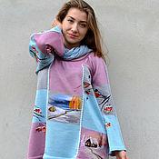 """Одежда ручной работы. Ярмарка Мастеров - ручная работа """" Зима. Коллаж."""". Handmade."""