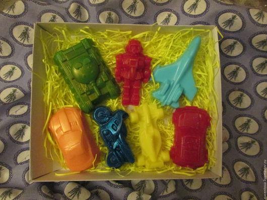 """Мыло ручной работы. Ярмарка Мастеров - ручная работа. Купить Набор мыла """"Игрушки"""". Handmade. Разноцветный, мыльная основа Англия"""