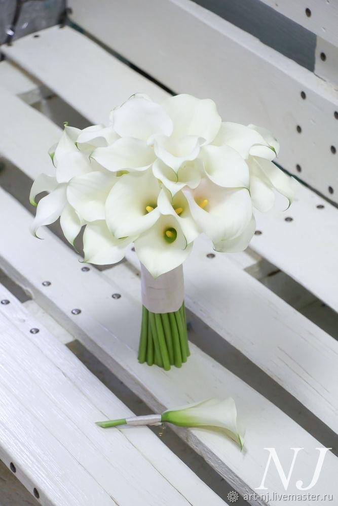 Свадебные букеты невест из калл, цветы в сочи с доставкой на дом отзывы