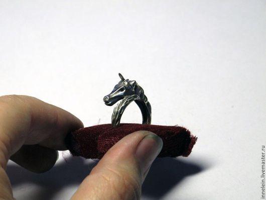 """Кольца ручной работы. Ярмарка Мастеров - ручная работа. Купить Серебряное кольцо """"Единорог"""". Handmade. Серебряный, кольцо единорог, единорог"""