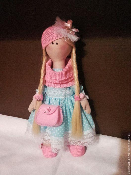 Куклы тыквоголовки ручной работы. Ярмарка Мастеров - ручная работа. Купить кукла Мила. Handmade. Текстильная кукла, ручная работа