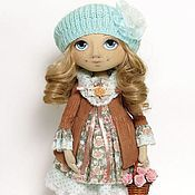Куклы и игрушки ручной работы. Ярмарка Мастеров - ручная работа Варя, интерьерная кукла.. Handmade.
