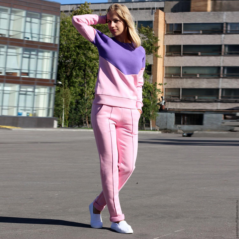 Спортивный свитер женский