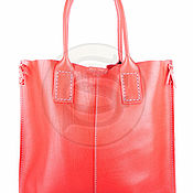 Сумки и аксессуары handmade. Livemaster - original item Womens leather handbag Julia red. Handmade.