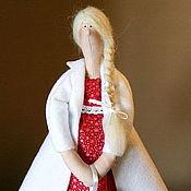Куклы и игрушки ручной работы. Ярмарка Мастеров - ручная работа Девочка Зима. Handmade.