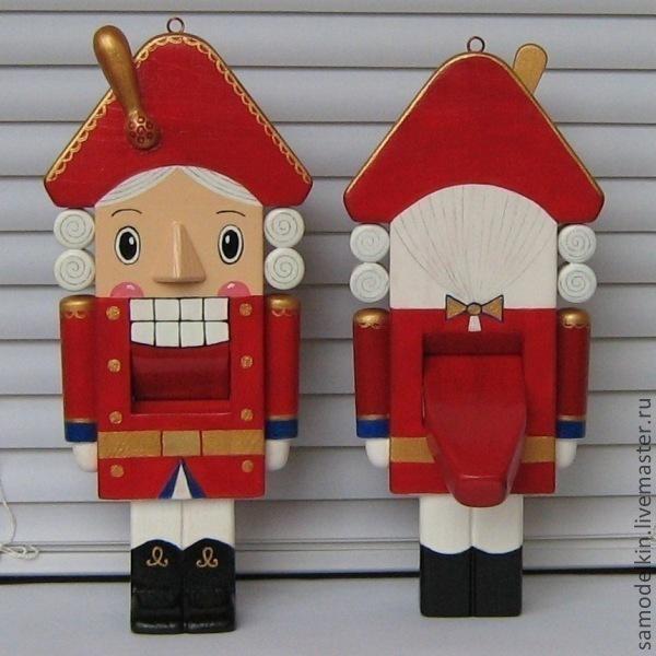 Купить Щелкунчик деревянная игрушка - игрушка, кукла, Новый Год ...