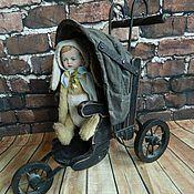 Материалы для творчества ручной работы. Ярмарка Мастеров - ручная работа Антикварная коляска для куклы. Handmade.