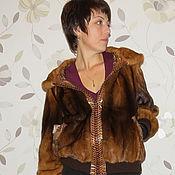 Одежда ручной работы. Ярмарка Мастеров - ручная работа Куртка норковая.Перекрой. Handmade.