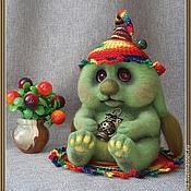 Куклы и игрушки ручной работы. Ярмарка Мастеров - ручная работа войлочная Туся Кислякина. Handmade.