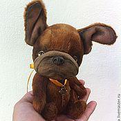 Куклы и игрушки ручной работы. Ярмарка Мастеров - ручная работа на заказ французский бульдог Пьер. Handmade.