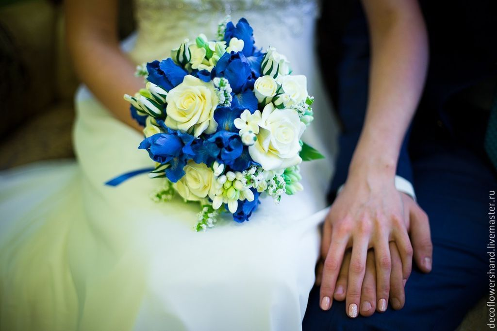 все новые букет невесты в синем цвете фото вкладу каждого