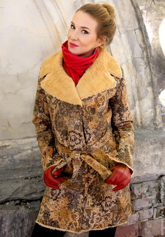 """Верхняя одежда ручной работы. Ярмарка Мастеров - ручная работа. Купить Пальто """"Кружевные узоры"""". Handmade. Пальто женское"""