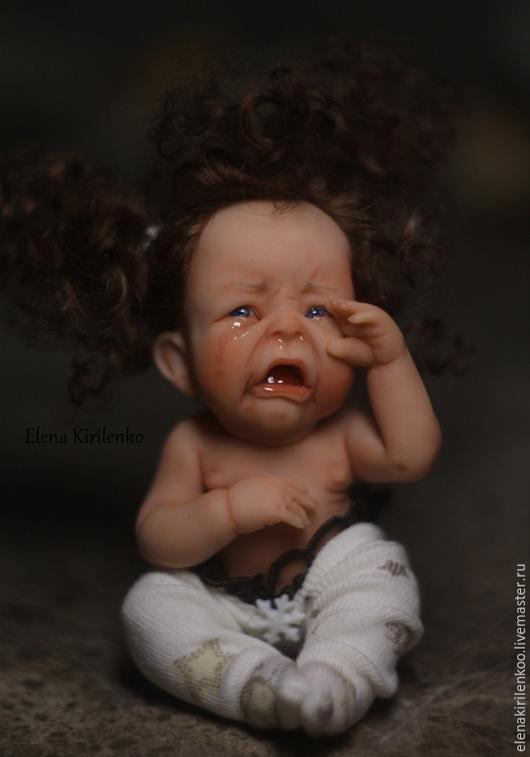 """Коллекционные куклы ручной работы. Ярмарка Мастеров - ручная работа. Купить """"Козюля"""". Handmade. Бежевый"""