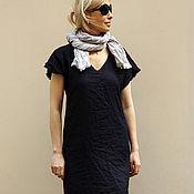 Одежда ручной работы. Ярмарка Мастеров - ручная работа Льняное платье. Handmade.