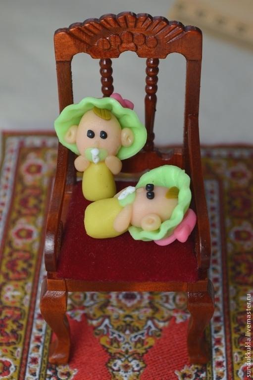 Куклы и игрушки ручной работы. Ярмарка Мастеров - ручная работа. Купить Кукла миниатюрная 2,5 см. Handmade. Подарок