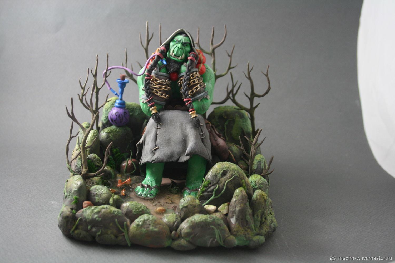 Орк World of Warcraft, Мягкие игрушки, Москва,  Фото №1