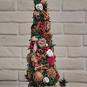Елки ручной работы. Ярмарка Мастеров - ручная работа Новогодняя елка. Handmade.