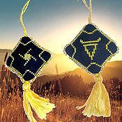 Фен-шуй и эзотерика handmade. Livemaster - original item Double-sided amulet, custom made VELES AND VELASEVIC. Handmade.