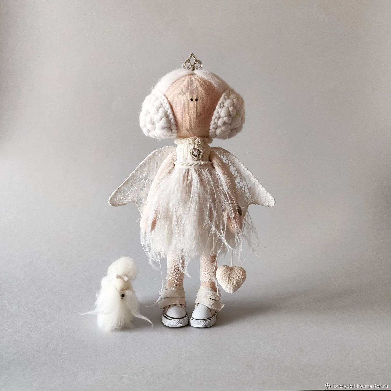 interior doll: Dolls and dolls: Angel White Handmade, Interior doll, Kiev,  Фото №1