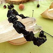 Фен-шуй и эзотерика handmade. Livemaster - original item Shambhala bracelet with black tourmaline. Handmade.