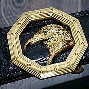 Аксессуары handmade. Livemaster - original item Belt made of genuine crocodile leather, in black color.. Handmade.