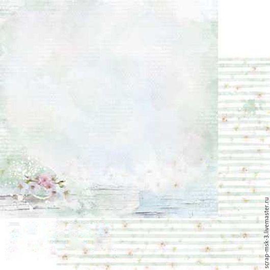 Открытки и скрапбукинг ручной работы. Ярмарка Мастеров - ручная работа. Купить Бумага для скрапбукинга по листу Летний сад 4208 Fleur Design. Handmade.