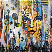 Картины и панно ручной работы. Ярмарка Мастеров - ручная работа картина Сквозь сумрак. Handmade.