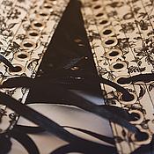 """Одежда ручной работы. Ярмарка Мастеров - ручная работа Двухсторонний пояс-корсет """"Dried Flowers"""". Handmade."""