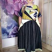 Платья ручной работы. Ярмарка Мастеров - ручная работа Платья: платье в стиле пэчворк и платье в горох. Handmade.