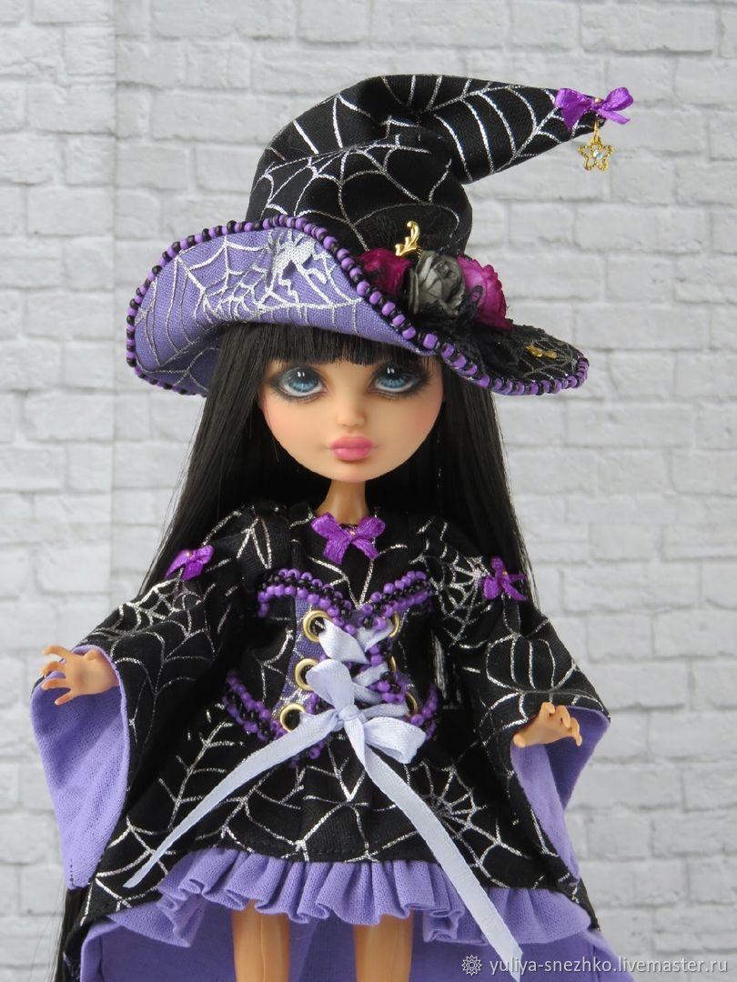 ООАК Ведьмочка Монстер Хай, Портретная кукла, Можга,  Фото №1