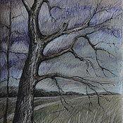 Картины и панно ручной работы. Ярмарка Мастеров - ручная работа Картина «Дерево». Handmade.