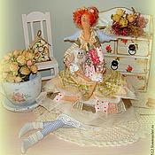 Куклы и игрушки ручной работы. Ярмарка Мастеров - ручная работа Пенелопа - фея текстильная (Бохо). Handmade.