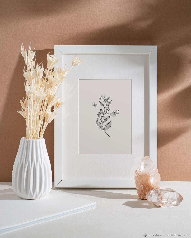 Серия: Бабочки и травы, Иллюстрации и рисунки, Москва,  Фото №1