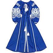 """Одежда handmade. Livemaster - original item Длинное платье с клиньями """"Восточная Сказка"""". Handmade."""
