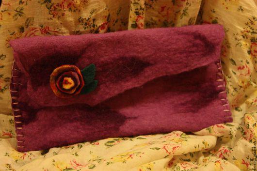 Женские сумки ручной работы. Ярмарка Мастеров - ручная работа. Купить Валяные сумки, валяные кошельки, валяные косметички, валяные чехлы. Handmade.