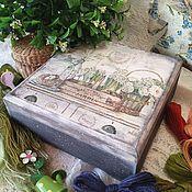"""Для дома и интерьера ручной работы. Ярмарка Мастеров - ручная работа """"Весенний вечер"""" шкатулка. Handmade."""