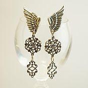 Украшения handmade. Livemaster - original item Earrings with Wings
