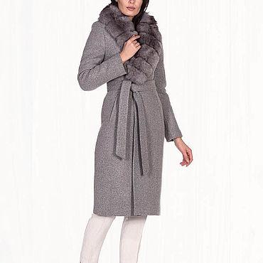 Одежда ручной работы. Ярмарка Мастеров - ручная работа Зимнее пальто теплое 27П. Handmade.