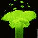так гриб выглядит в темноте