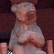 Для дома и интерьера handmade. Livemaster - original item Wooden garden Park sculpture from the array