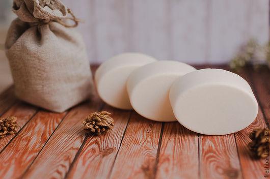 """Мыло ручной работы. Ярмарка Мастеров - ручная работа. Купить """"Чистюля"""" хозяйственное мыло натуральное с нуля. Handmade. Белый"""